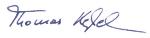 Unterschrift Thomas Keßeler