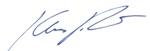 Unterschrift Klaus Richter